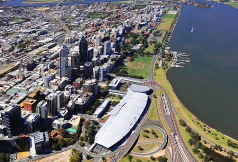 perth from sky