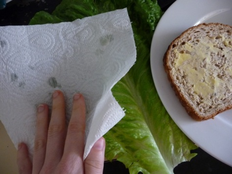 dry your lettuce