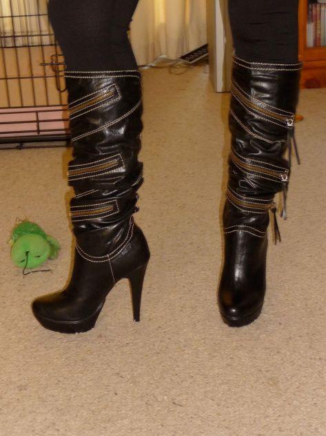 biker chick boots