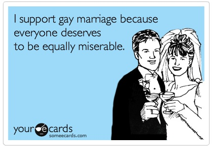 My take on gay marriage