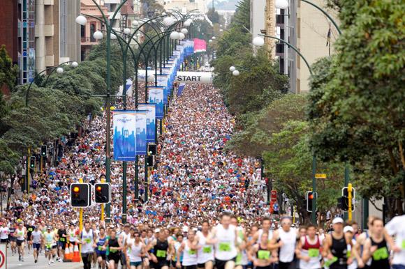 The half-marathon that almost wasn't